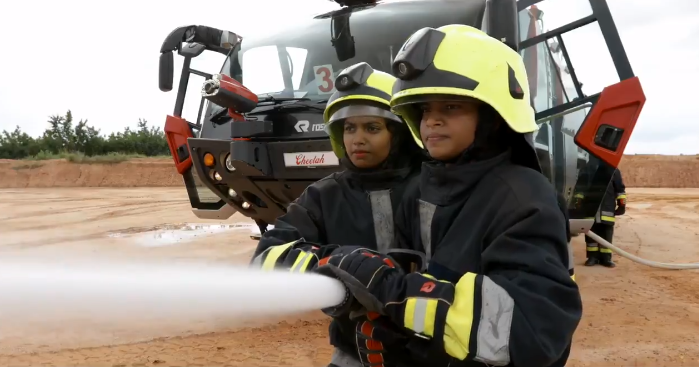 Asia's first All Women Aviation Firefighter Squad